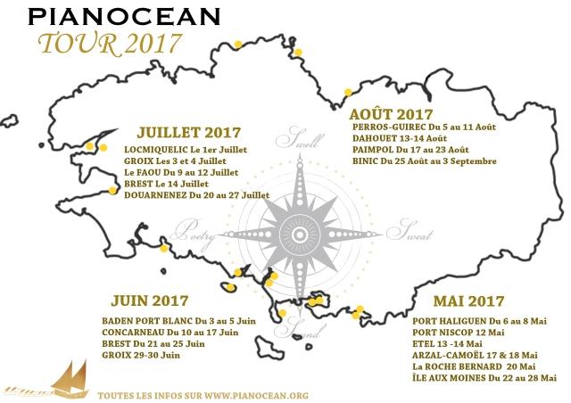 MAP TOUR 2017