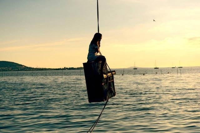 flying mooring. By Anne Lise Lepellec