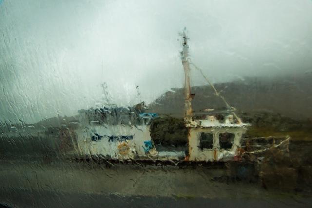 boat pluie